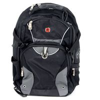 Рюкзак WENGER (32 литра, черный/серый)