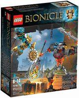 """LEGO Bionicle """"Создатель Масок против Стального Черепа"""""""