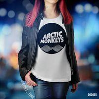 "Футболка женская ""Arctic Monkeys"" XL (065)"