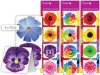 """Магнитные закладки """"Цветы"""" (4 шт.)"""