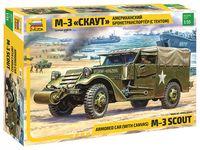 """Сборная модель """"Американский бронетранспортер М3 """"Скаут"""" (масштаб: 1/35)"""