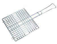 Решетка для гриля металлическая раскладная прямоугольная (30*30 см)