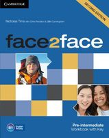 Face2Face. Pre-Intermediate. Workbook with Key
