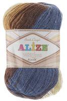 ALIZE. Superlana Klasik Batik №4263 (100 г; 280 м)