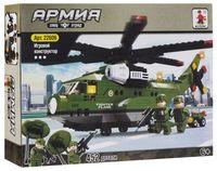 """Конструктор """"Армия. Армейский вертолет"""" (452 детали)"""