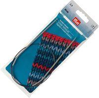 Спицы круговые для вязания (алюминий; 2 мм; 60 см)