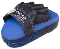 Лапы боксёрские изогнутые (пара; синие)
