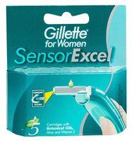 Кассета для станков для бритья Gillette SENSOR Excel (5 шт)