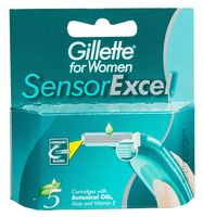 "Кассета для станка ""Gillette. SENSOR Excel"" (5 шт.)"