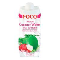"""Вода кокосовая """"Foco. С личи"""" (330 мл)"""