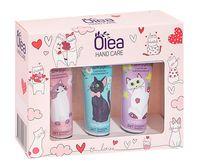 """Подарочный набор """"Olea. Hand Care Cats"""" (3 крема)"""