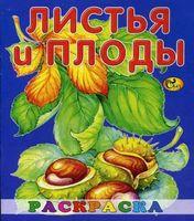 Листья и плоды. Ракраска