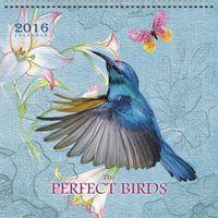 """Календарь настенный перекидной на 2016 год """"Живая планета. Чудесные птицы"""""""