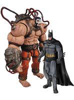 """Набор фигурок """"Бэтмен. Лечебница Аркхэм. Бэтмен и Бэйн"""". 2 в 1 (25 см)"""