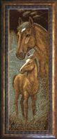 """Вышивка крестом """"Лошади"""" (150x490 мм)"""