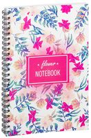 "Блокнот в клетку ""Flower notebook"" A5 (арт. 1375)"
