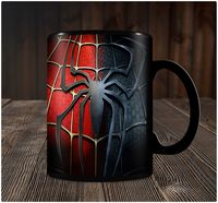 """Кружка черная """"Человек-паук"""" (art. 3)"""
