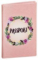 "Обложка на паспорт ""Венок"""