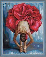 "Картина по номерам ""Танцовщица"" (400х500 мм)"