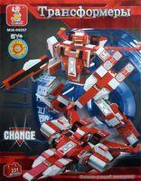"""Конструктор """"Робот трансформер. Космический фламинго"""" (331 деталь)"""