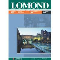 Фотобумага матовая односторонняя Lomond (100 листов, 160г/м2, формат А4)
