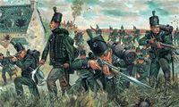 """Набор миниатюр """"British 95th rgt. Green Jackets"""" (масштаб: 1/72)"""