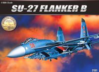 Самолет SU-27 Flanker B (масштаб: 1/48)