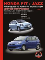 Honda Fit / Honda Jazz c 2001 г. Руководство по ремонту и эксплуатации