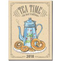 """Календарь на магните """"Tea Time"""" (2018)"""
