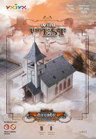 """Игровой набор из картона """"Церковь"""" (масштаб: 1/56)"""