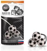 """Ароматизатор подвесной """"Футбол"""" (чёрный лед; арт. AFFO126)"""