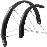 """Комплект щитков для велосипеда с креплением """"Aluflex"""" (20""""; черный)"""