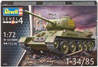 """Сборная модель """"Советский танк Т-34/85"""" (масштаб: 1/72)"""
