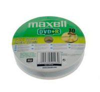 Диск DVD+R 4.7Gb 16x MAXELL bulk 10