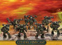 "Набор миниатюр ""Warhammer 40.000. Finecast: Chaos Space Marines Plague Marines"" (43-42)"
