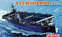 "Авианосец ""U.S.S. Belleau Wood CVL-24"" (масштаб: 1/700)"
