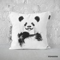 """Подушка """"Панда с усами"""" (506)"""