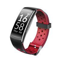 Фитнес-браслет SOVO SE12 (черно-красный)