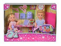 """Набор кукол """"Эви и Тимми на уроке"""""""