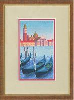 """Вышивка крестом """"Вечер в Венеции"""""""