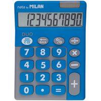 Калькулятор (10 разрядов, голубой/серый)