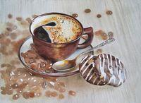 """Алмазная вышивка-мозаика """"Бодрящий кофе"""""""