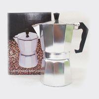 Кофеварка гейзерная металлическая (300 мл; арт. 201600)
