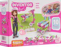 """Конструктор """"Inventor Girl. 10 моделей"""" (73 детали)"""