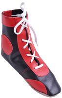 Обувь для самбо П (р.30; кожа; красная)