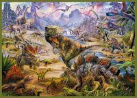 """Пазл """"P. Krasny. Динозавры"""" (2000 элементов)"""