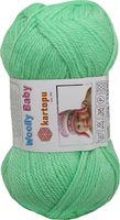 """Пряжа """"KARTOPU. Woolly Baby №K437"""" (50 г; 148 м; зеленый)"""