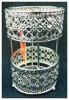 Подставка для столовых приборов металлическая (14х9 см)