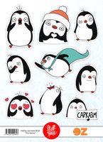 "Набор наклеек №64 ""Пингвины"""
