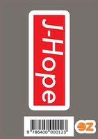 """Глянцевая наклейка """"J-Hope"""" (арт. 0012)"""